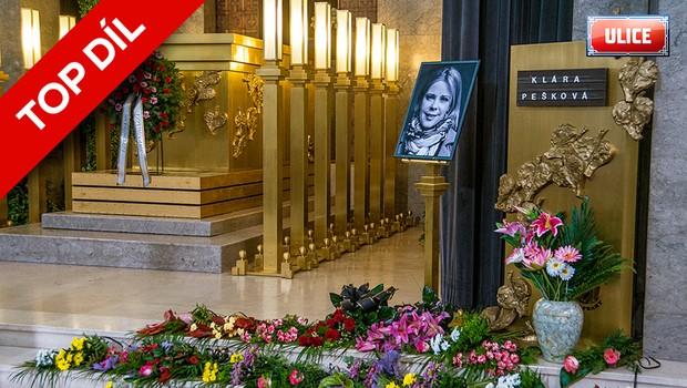 TOP DÍL: Pohřeb Kláry Peškové