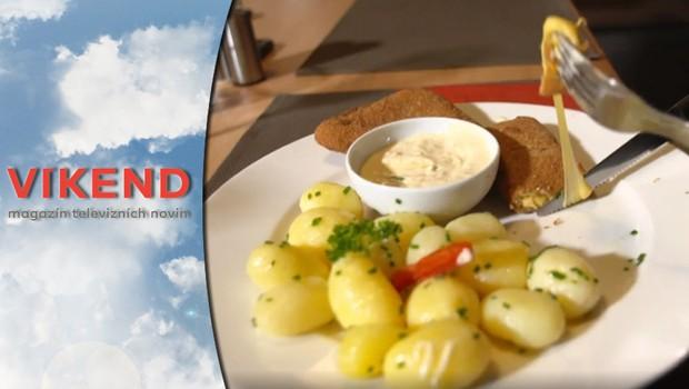 Víkend - Smažený sýr