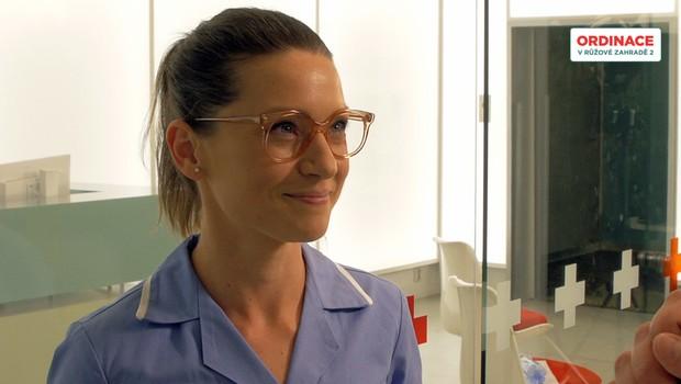 Hana Kusnjerová zkoušela v Ordinaci i jinou roli. Kdo by byla, když ne Lada Hrůzová?