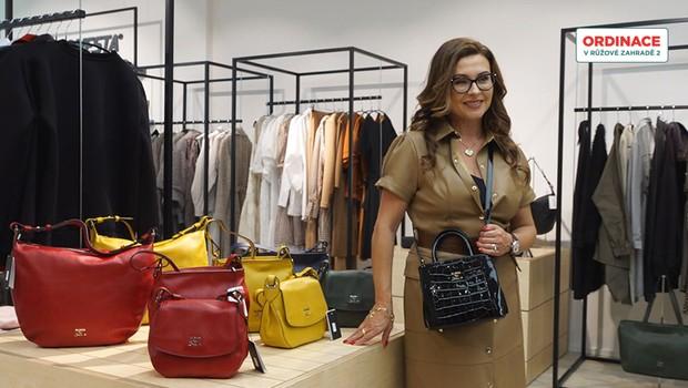 Herečka Dana Morávková předvedla novou kolekci kabelek! Jak se k tomuto koníčku dostala?