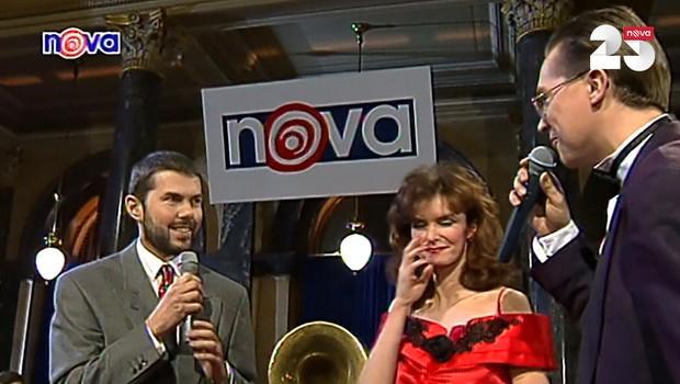 Slavnostní zahájení vysílání Televize Nova - 4. 2. 1994