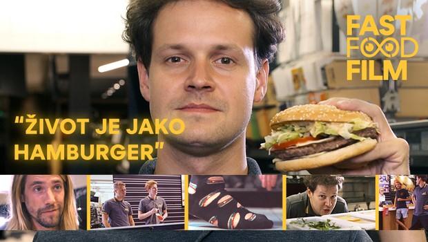 Život je jako hamburger