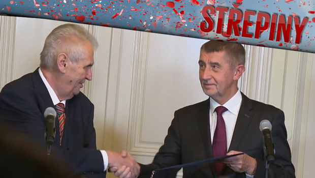 Střepiny - Vztah mezi Andrejem Babišem a Milošem Zemanem