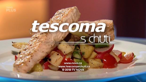 Restovaný filet z lososa s bramborovým salátem a chřestem - 12. 06. 2020