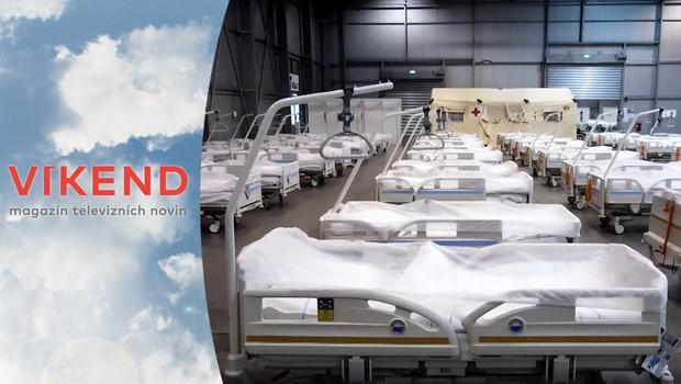 Jak se staví polní nemocnice? Tato akce vejde do historie armádní logistiky