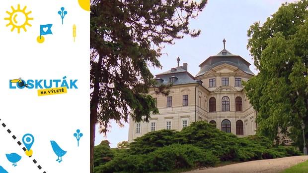 Malebný barokní zámek Karlova Koruna: Břeh Cidliny zdobí už po tři století!