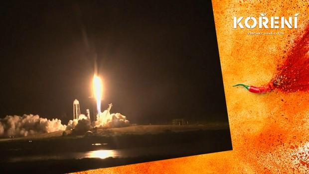 SpaceX dopravila čtyři astronauty na ISS: Podívejte se na průběh jejich cesty