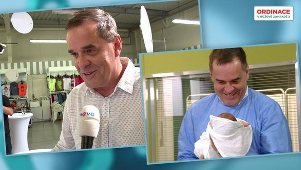 JAKO NA MARIHUANĚ: Miroslav Etzler popsal detaily porodu! Proč u něj nakonec nebyl?
