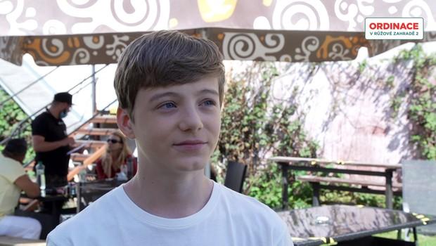 Matyáš Svoboda z Ordinace: Jak zvládá natáčení se školou a jak ho oslovují fanoušci?
