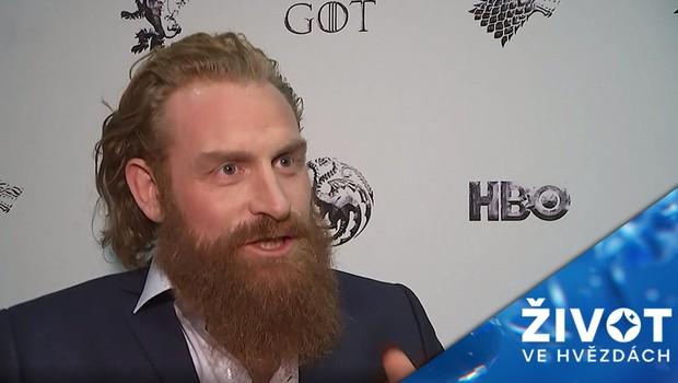 Nákaza si nevybírá: Pozitivní výsledek má i herec ztvárňující Tormunda v oblíbeném seriálu