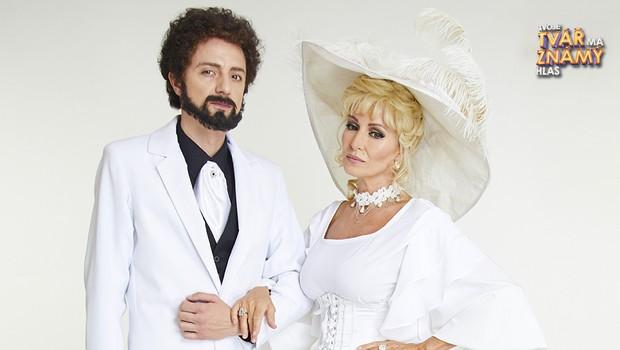 Kateřina Brožová a Ondřej Ruml jako Helena Vondráčková a Waldemar Matuška – To se nikdo nedoví