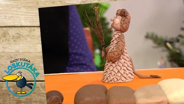 Jak na figurální pečivo? Vyrobte si z něj roztomilého čertíka!