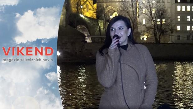 Rekordér: Operní pěvkyně vystoupila na lodi pod Karlovým mostem!