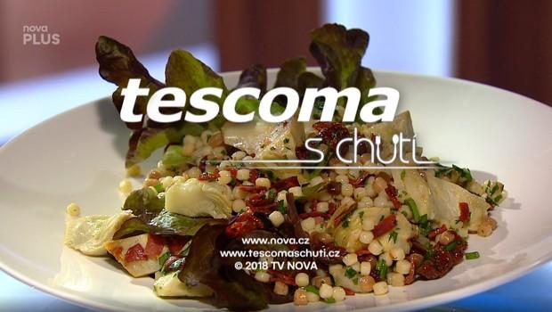 Salát s artyčoky a chorizem - 16. 06. 2020