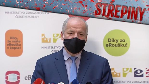 Pandemie v Česku: Schůzka Prymuly a Faltýnka otřásla důvěrou veřejnosti