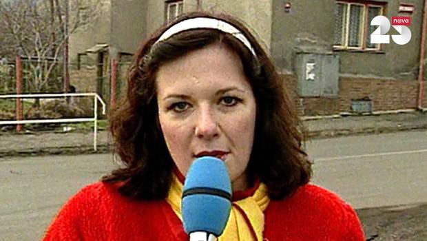 První reportáž Televize Nova - 4. 2. 1994