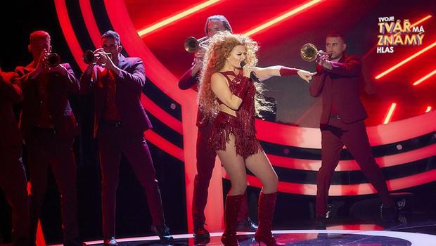 Erika Stárková jako Shakira: Hips Don't Lie