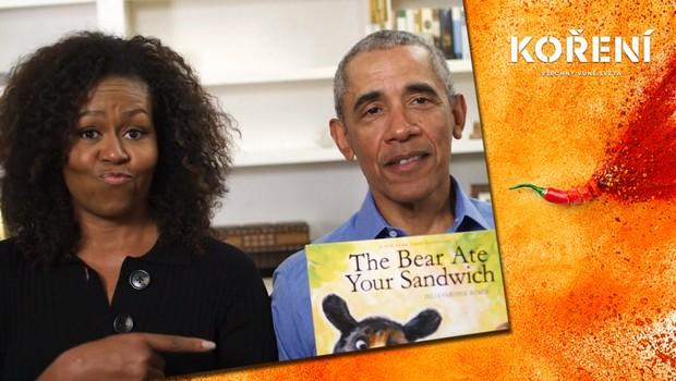 Jak slavní tráví čas v karanténě? Manželé Obamovi předčítali dětem pohádku online