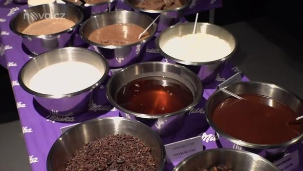 Koření - Továrna na čokoládu