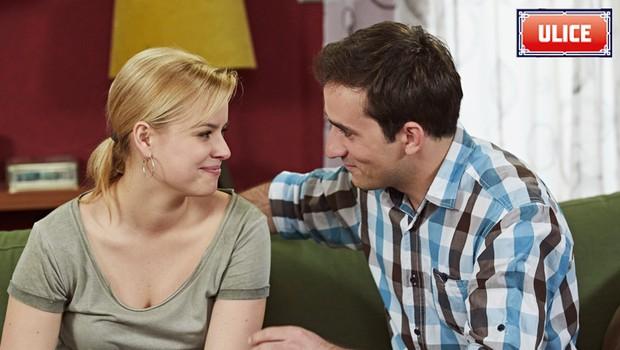 EXKLUZIVNÍ UKÁZKA z nových dílů Ulice: Šťastná novinka! Co se dozví Tereza a David?