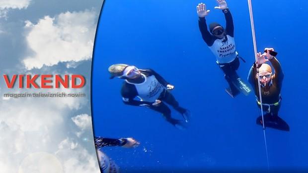 Víkend - Freediving