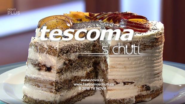 Makový dort s blumami - 24. 06. 2020