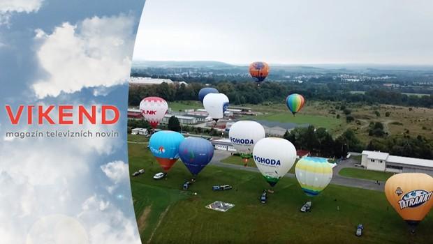 Rekordér: Nebe nad vodní nádrží Rozkoš brázdily horkovzdušné balóny!