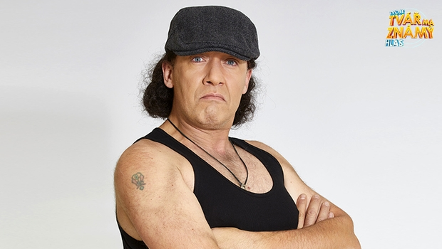 Robert Jašków jako Brian Johnson z AC/DC - Thunderstruck
