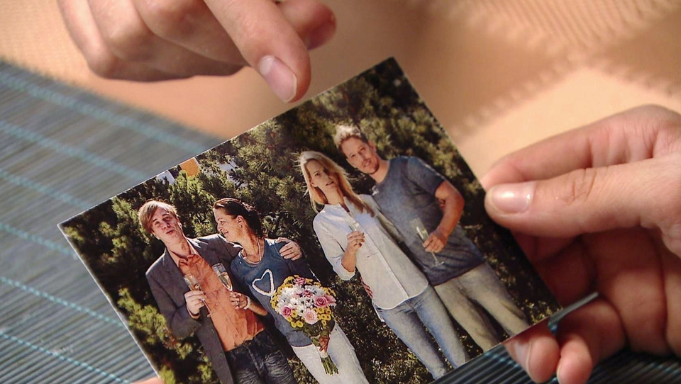 Ordinace: Fotografie Marka s manželkou Innou a její rodinou
