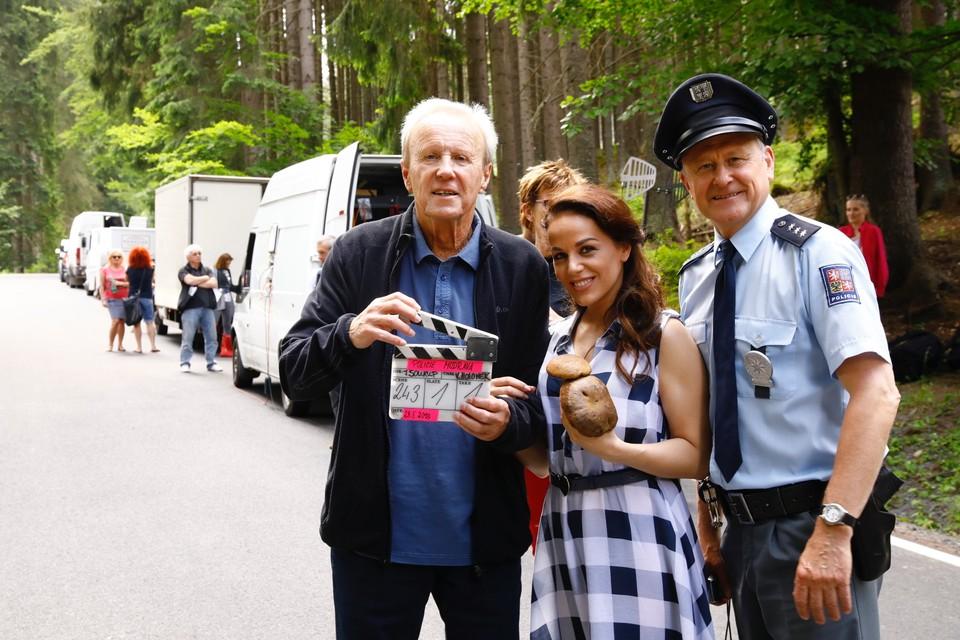 TV Nova natáčí nové díly nejúspěšnějšího seriálu současnosti Policie Modrava - 12