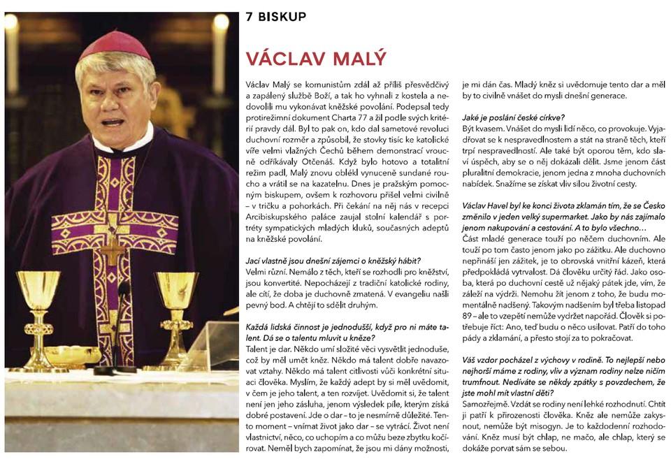 100 ČESKÝCH IKON PODLE TV NOVA - Biskup