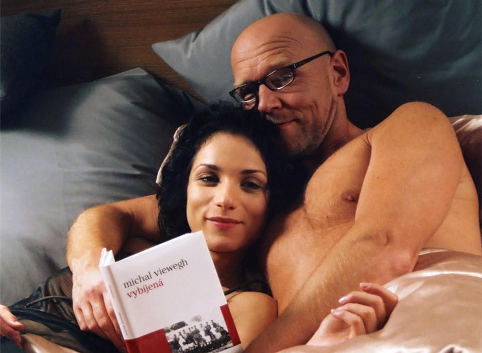 Zuzana Kanócz a Marek Vašut v Románu pro ženy.
