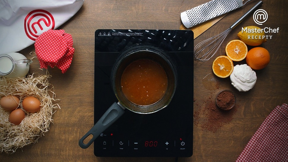 MasterChef recepty: Čokoládové bábovičky s pomerančem a marakujou podle Kristíny Nemčkové - 6