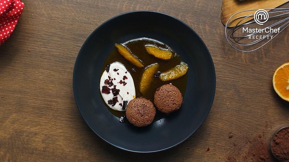 MasterChef recepty: Čokoládové bábovičky s pomerančem a marakujou podle Kristíny Nemčkové - 8