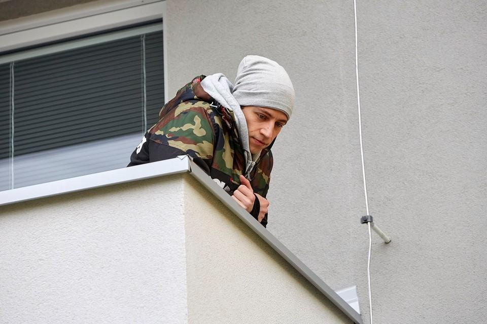 Ordinace: Při skoku z balkonu nahradil Peroutku kaskadér - 1