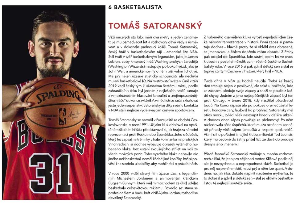 100 ČESKÝCH IKON PODLE TV NOVA - Basketbalista