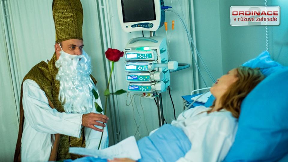 Ordinace: Mázl jako Mikuláš u Magdy v nemocnici