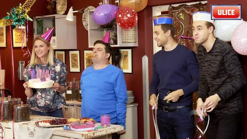 Seriál Ulice: Janina narozeninová oslava - 2