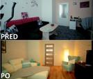 PŘED A PO: Proměna bytu Lenky a Lukáše - obývací pokoj.