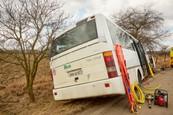 Nehoda autobusu v Ordinaci