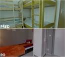 PŘED A PO: Proměna bytu rodiny Sihelských - první dětský pokoj.