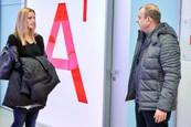 Ordinace: Petra Kvitová a Petr Rychlý coby Čestmír Mázl