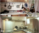 PŘED A PO: Proměna bytu Čermákových - kuchyně.