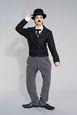 Berenika Kohoutová jako legendární komik Charlie Chaplin - 6