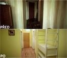 PŘED A PO: Proměna bytu rodiny Jochýmkových - předsíň.