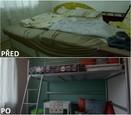 PŘED A PO: Proměna bytu rodiny Sihelských - druhý dětský pokoj.