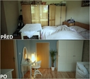PŘED A PO: Proměna bytu rodiny Jochýmkových - ložnice babičky.