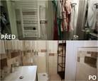 PŘED A PO: Proměna bytu Čermákových - koupelna.