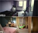 PŘED A PO: Proměna bytu rodiny Jochýmkových - pokoj Ráchel.