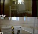 PŘED A PO: Proměna bytu rodiny Sihelských - koupelna.